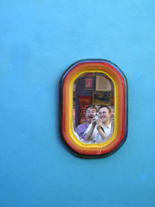 Gonzalo Guerechit Ratti | Pride Mirror | La Boca, Buenos Aires, Argentina