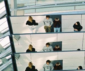 Jacques Doucet | giant mirror structure