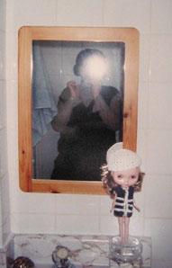 Katarina A | Me and Drew in the bathroom | Toronto, Ontario, Canada