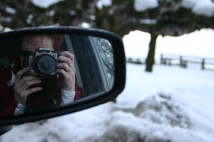 Chantal | Car-mirror | Austria - Zell am See