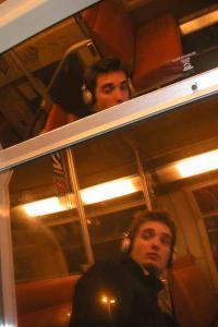 Damien Boisson-Ber�u | Train de banlieue, suite | Montrouge, France