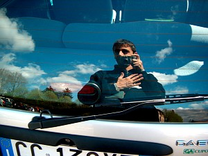 Fabio Pani   Rear window of my wife's car   Seveso, Italy