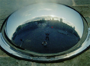 chris | bubble mirror panorama | Quebec City