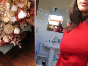 Audrey J | Dans la salle de bain | Pitegny, France