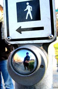 Alex Inglizan   Cross-Walk Mirror   Chicago, Il