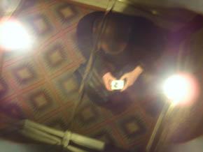 Bruce Gauthier | Mirrored Ceiling in Elevator | Las Vegas, NV