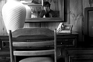 Martin Fuchs | In a Motels room-mirror | Montauk, Long Island, New York State