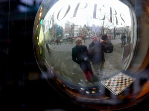 Ernesto De Quesada | Reflection in Amsterdam | Amsterdam, Holland