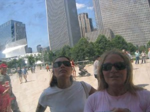 Nann Patridge | We mean bizness! | Millennium Park Chicago