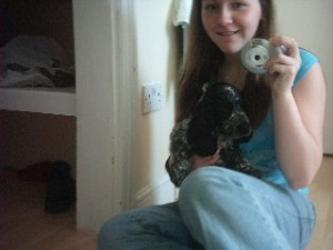Hayley Weatherilt | Me and my puppy Jake :) | Manchester, England