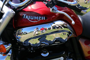 Kirsty Fairbairn   Triumph   Beaulieu Motorcycle World 2005