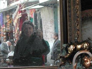 Racheli Zusiman | Flea Market Reflection | Jaffa Flea Market, Israel