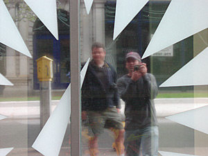 Thomas Arthur Lingner   Me and Dave in Portland   Portland, Maine
