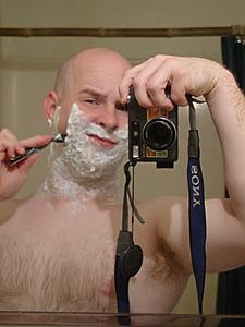 Joseph Johnston | shavin' | My Bathroom, Starkville, MS