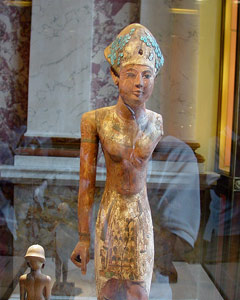 j. patrick | egyptian artifact at the louvre | paris