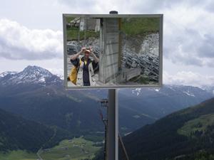 chris | Alpine mirror | Davos, Switzerland