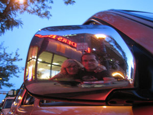 Ernesto De Quesada | Reflection with Linda. Uptown Mpls | Minneapolis