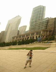 Balaji Shankar Venkatachari | Curved and diminished | Millenium park , Chicago, USA