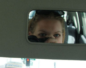Amanda Davis | Stopped at Red Light | Sydney, Australia