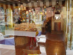 Derek Law | Glass Shop Double | Murano, near Venice.