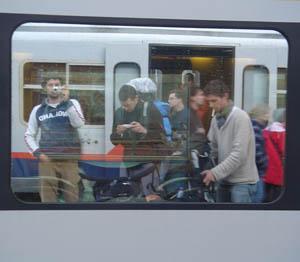 David Vlietstra | Off the train | Groningen, Netherlands