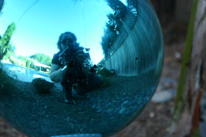 whitney | self portrait in blue | Santa Clara, Ca