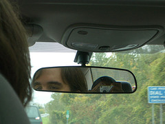 dacia mitchell | From the Backseat | Interstate 87, New York State, USA