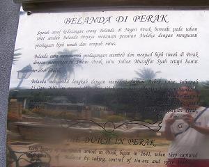Joshua Low | Dutch Fort, Pangkor Island | Pangkor Island, Perak State, Malaysia
