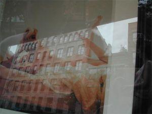 Mark J. Smith | Me-Marilyn and a building in SOHO | SOHO, NYC
