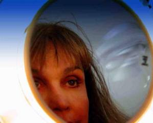 Jan Marlyn Reesman | Jan in make-up mirror | Benedict Cyn. Beverly Hills, CA.