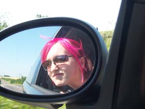 Julia Kidd | Driving To Glastonbury | Wiltshire, UK