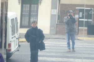 Jose M. Acosta   Ferran and I   Lleida, Spain