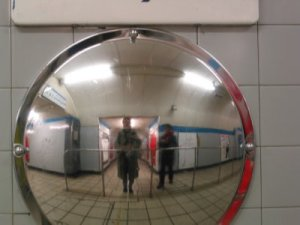 Jayme | Tube Mirror | London, England