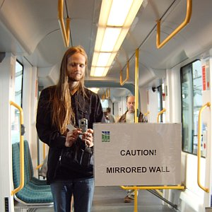 Fergus Ray Murray | CAUTION! MIRRORED WALL | Edinburgh