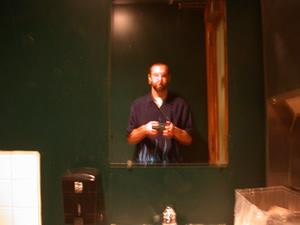 adam rowe | ar020729 - creepy bathroom | men's toilet in barley's taproom, knoxville, tn