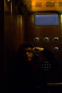 Anna Carastathis   elevator panel   morningside drive apartment building, new york