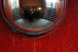 Misty Maberry | Red Hallway | Baker Street, London, England
