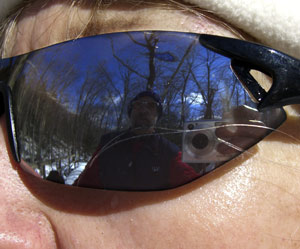 Joel Schilling | Reflection in Sunglasses | Stowe, Vermont