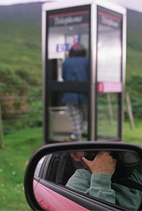 Carlos Carreter | Phoning home | Near of Durness, Scotland