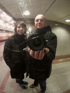 karine & anthony | london tube