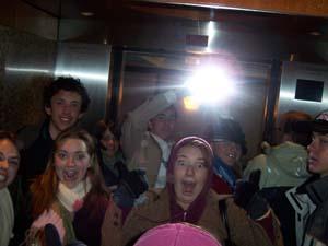 robyn luttrell | lovin in an elevator. | new york, ny