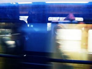 Milo Vermeulen | passing train | Delft, The Netherlands