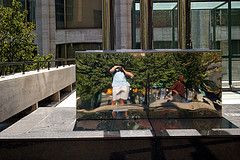 Marianone | Reflection in Licoln Center | New York
