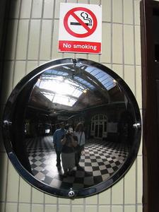 Elaine Mesker-Garcia | At some London Underground station... | London, England