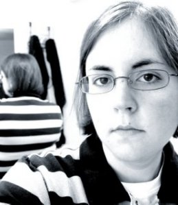 kelly | Selfportrait with stripes | Northern Virginia