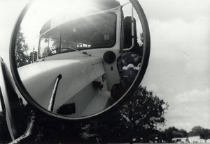Nikki Moskaluk | bus reflection | John Hersey High School, Arlington Heights