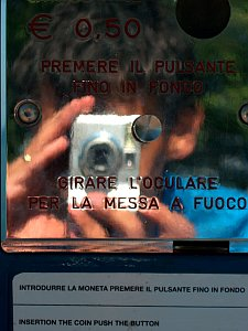 Fabio Pani   Public binoculars   Desenzano, Italy