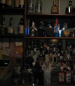 Darren Hamilton | hiding among the bottles | baltimore, maryland