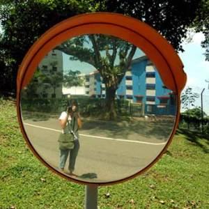 Lydia   Road Mirror   Singapore, Queensway