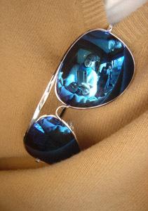 Nerissa M | Blue glass